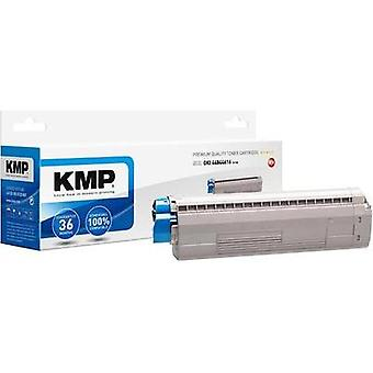 KMP Toner cartridge replaced OKI 44844616 Compatible Black 7300 pages O-T45