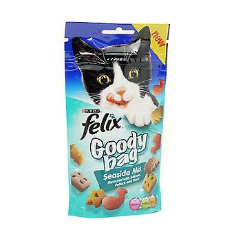 Felix Goody pose Seaside Mix 60g (Pack af 8)