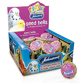 Jvp Treat2eat Budgie Seed Bell 34g (Pack of 27)