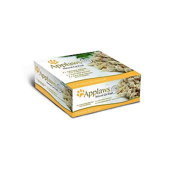Applaws kat Tin kylling udvalg Multi Pack 12x70g (pakke med 4)
