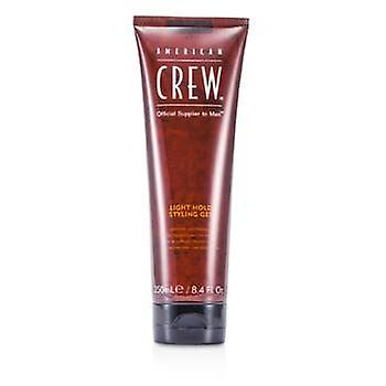 American Crew Men Light Hold Styling Gel (Non-Flaking Gel) - 250ml/8.4oz