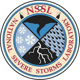 US National Severe Storms Laboratory NSSL Seal Car Air Freshener