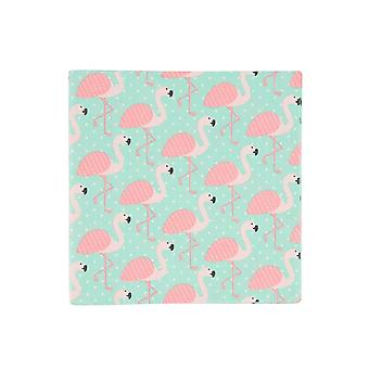 Set of 20 Tropical Summer Flamingo Napkins : PAR006