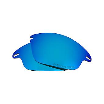 Best SEEK Polarized Replacement Lenses for Oakley FAST JACKET Blue Mirror