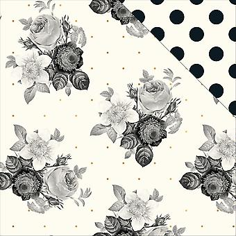 In Bloom Foiled Double-Sided Cardstock 12