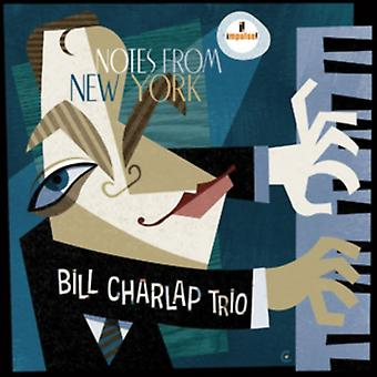 Noter fra Ny York by Bill Charlap Trio