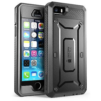 Supcase-iPhone5-BeetlePro Fullbody with Screen Protector-Black