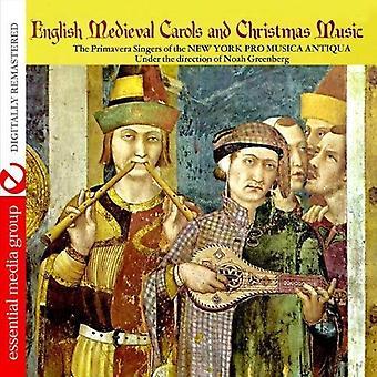Primavera cantantes de la Nueva York Pro música Dist - importar de Estados Unidos inglés Medieval música de villancicos y la Navidad [CD]