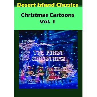 Christmas Cartoons 1 [DVD] USA import