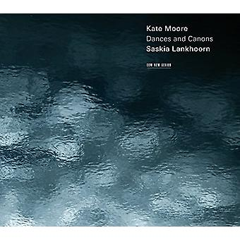 Saskia Lankhoorn - Kate Moore: Dances & Canons [CD] USA import