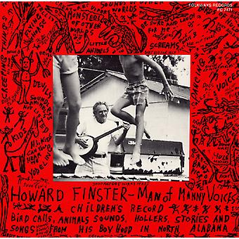 Howard Finster - Man of Many Voices [CD] USA import