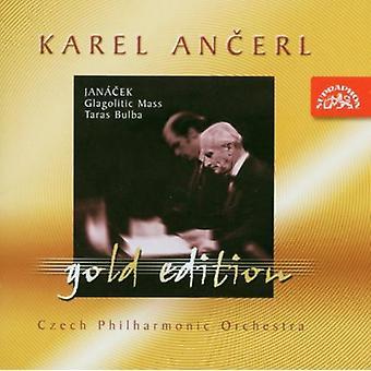 Czech Po/Prague Po/Ancerl - Jan Cek: Glagolitic Mass; Taras Bulba [CD] USA import