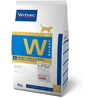 Virbac Veterinary HPM W2 Weight Loss & Control (Cats , Cat Food , Dry Food)