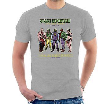 Snake Mountain uddannelse center Eternia Skeletor mænd T-Shirt
