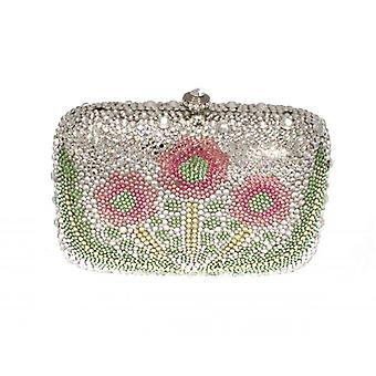W.A.T Sparkling Swarovski Crystal Evening Bag