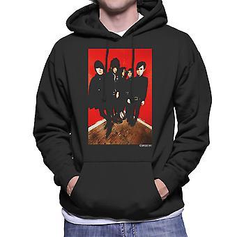 De verschrikkingen Band fotograferen mannen Hooded Sweatshirt