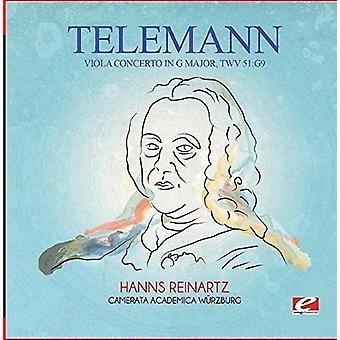 Telemann - Viola Concerto in G Major Twv 51:G9 [CD] USA import