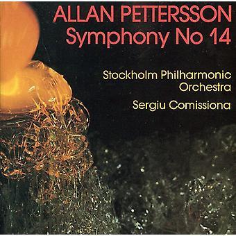 Allan Pettersson - Allan Pettersson: Symfoni No. 14 [CD] USA import
