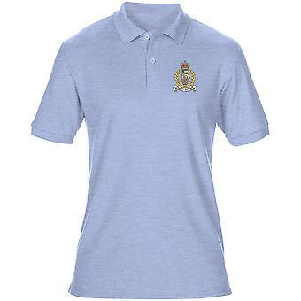Pessoal e divisão de apoio pessoal SPSB bordado logotipo - oficial de exército britânico Mens Polo camisa