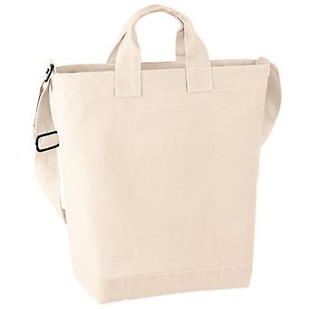 Bagbase Canvas Daybag / Hold & Strap Shopping Bag (15 Litres)