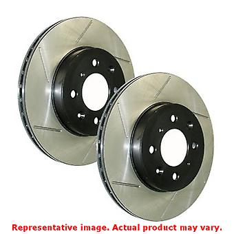 StopTech Brake Rotor - SportStop Slotted 126.58010SR Front Right Fits:JEEP 201