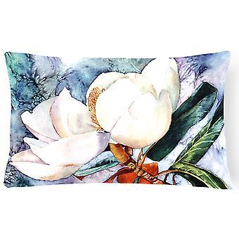 Carolines Treasures  8701PW1216 Magnolia Canvas Fabric Decorative Pillow