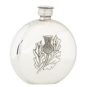 Cardo escocés único diseño 6oz frasco de la cadera (FL32P CB)