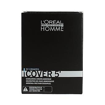 L'Oreal Homme Cover 5' Grey Cover No 6 Dark Blonde 3 x 50ml