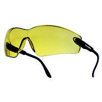 Bolle Vippsj Viper Glasses Black Nylon Frame Yellow Anti-Scratch & Fog Lens