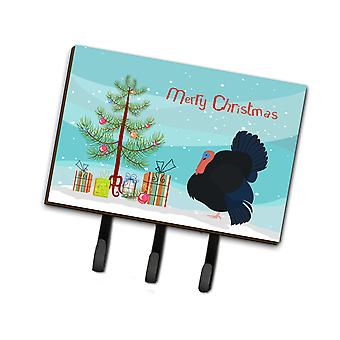 Norfolk Black Turkey Christmas Leash or Key Holder