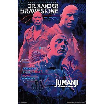 Jumanji - Smoulder Poster Print