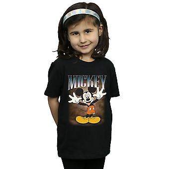 Disney Girls Mickey Mouse Tongue Montage T-Shirt