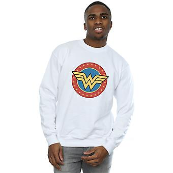 DC Comics Men's Wonder Woman Circle Logo Sweatshirt
