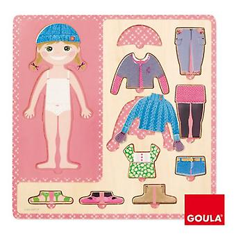 Goula Nestable girl to dress (Babies and Children , Toys , Preschool , Puzzles And Blocs)
