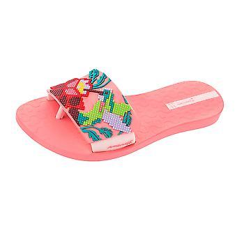 Womens Ipanema Flip Flops Livia Beach Sandals - Coral