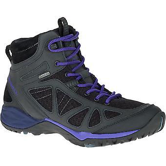 ميريل النسائي/السيدات صفارة الإنذار الرياضة Q2 من منتصف جوريتيكس GTX المشي الأحذية