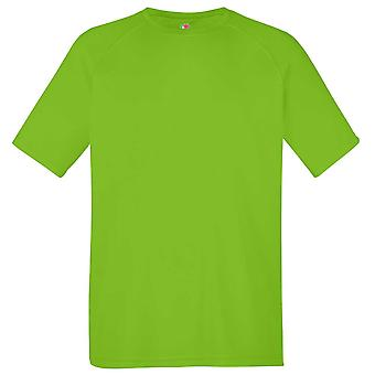 Fruit of the Loom Kids Colours Sports Performance Short Sleeve Crew Neck T Shirt