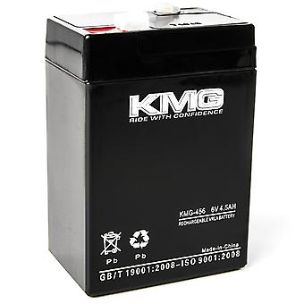 KMG 6 Volts 4.5Ah Replacement Battery for Sentry Lite 9985