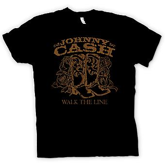 Kinder T-shirt - Johnny Cash - in Walk The Line