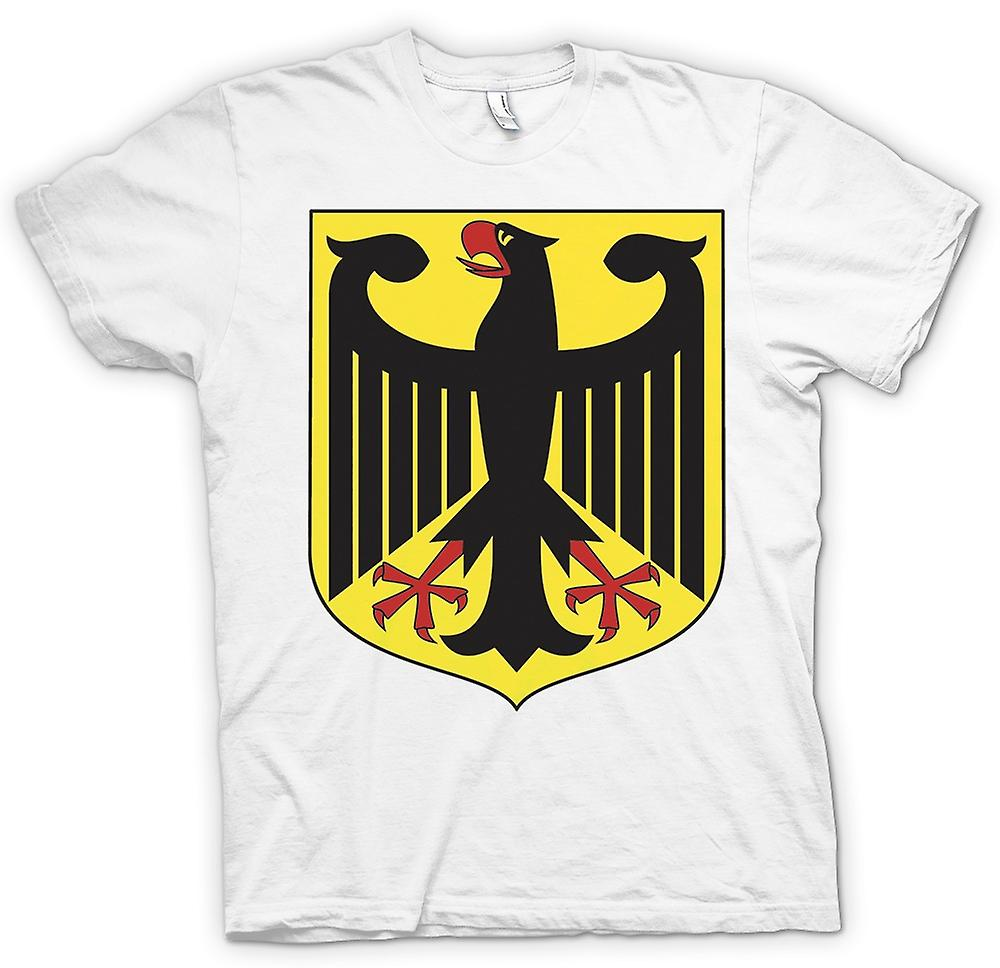 Womens T-shirt - German Coat Of Arms - Federal Eagle