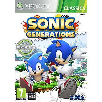 Sonic generaties - klassiekers (Xbox 360)