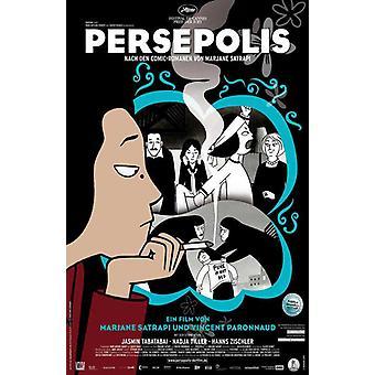 Poster do filme Persépolis (11 x 17)