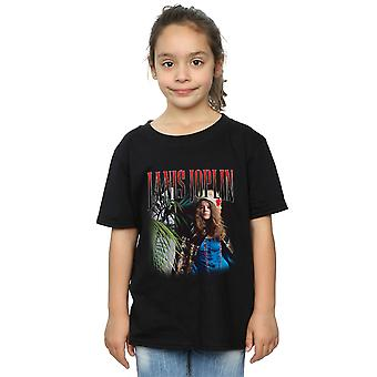 Janis Joplin Girls Baron Homage T-Shirt