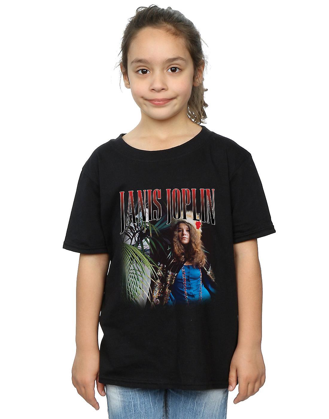 Janis Joplin Girls Baron Homage T-Shirt