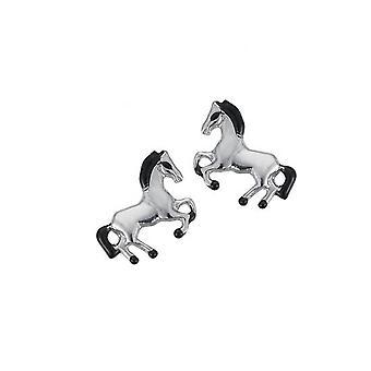 Scout children earrings ear cutter Silver Horse girl 262138100