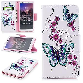 Pocket wallet motif 37 for Xiaomi Redmi 5 protection sleeve case cover pouch new