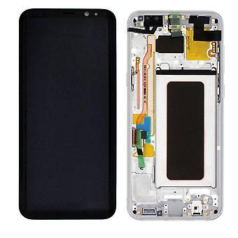Display LCD Komplettset GH97-20470B Silber für Samsung Galaxy S8 Plus G955 G955F