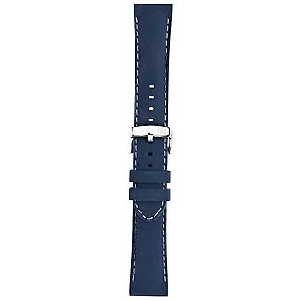Morellato Strap Only - Sprint Napa Leather Blue 16mm A01X2619875065CR16 Watch