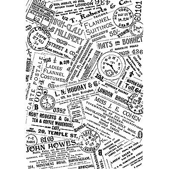 Crafty Individuals Unmounted Rubber Stamp 3.75