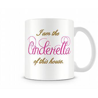 Cinderella Printed Tasse